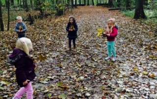 Kinderen verkiezen de natuur boven een iPad