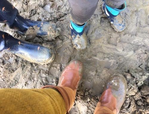 Lekker spelen in de modder